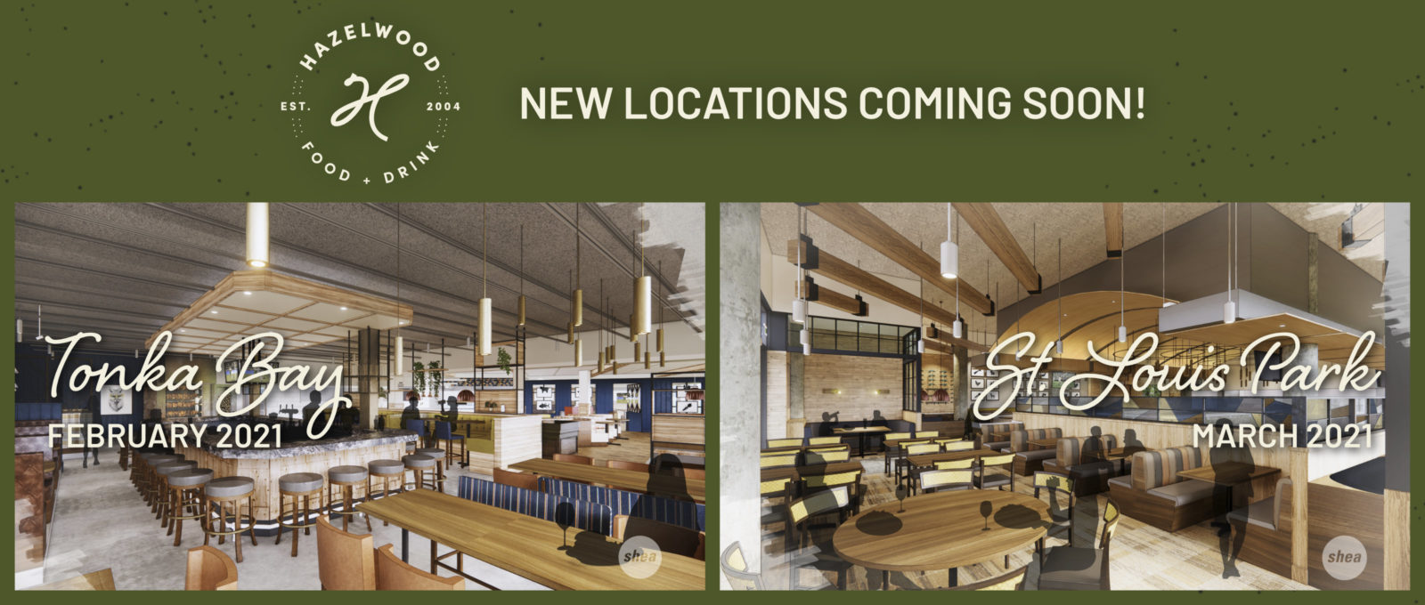 New Locations! Tonka Bay (February 2021) and St. Louis Park (March 2021)